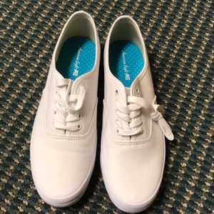 Brand New White Canvas Shoes